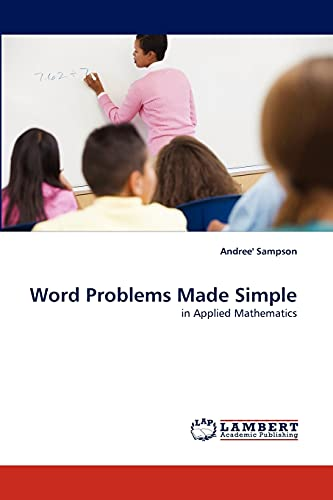9783838338798: Word Problems Made Simple: in Applied Mathematics
