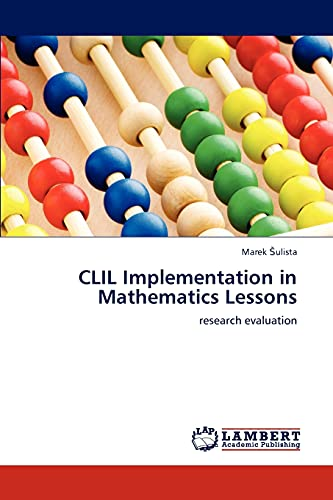 9783838340036: CLIL Implementation in Mathematics Lessons: research evaluation