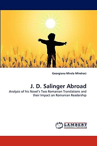 J. D. Salinger Abroad: Georgiana Mirela Mîndreci