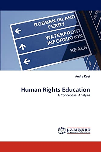 9783838345383: Human Rights Education: A Conceptual Analysis