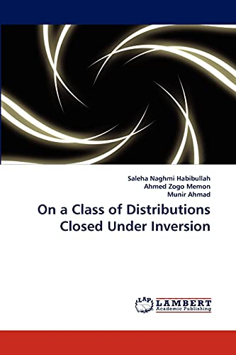 9783838348681: On a Class of Distributions Closed Under Inversion