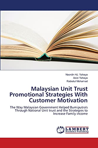 Malaysian Unit Trust Promotional Strategies with Customer Motivation: Azizi Yahaya