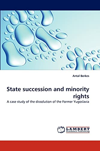 State Succession and Minority Rights: Antal Berkes