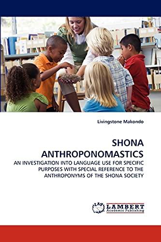 Shona Anthroponomastics: Livingstone Makondo