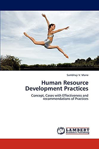 Human Resource Development Practices: Sambhaji V. Mane