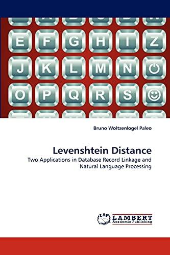 Levenshtein Distance: Bruno Woltzenlogel Paleo