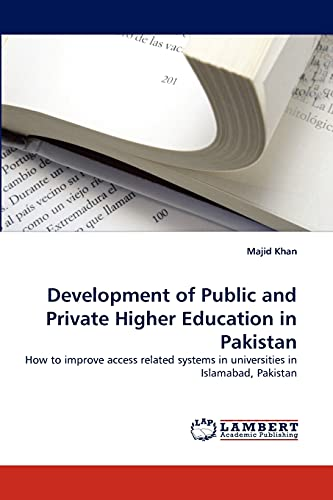 Development of Public and Private Higher Education: Khan, Majid