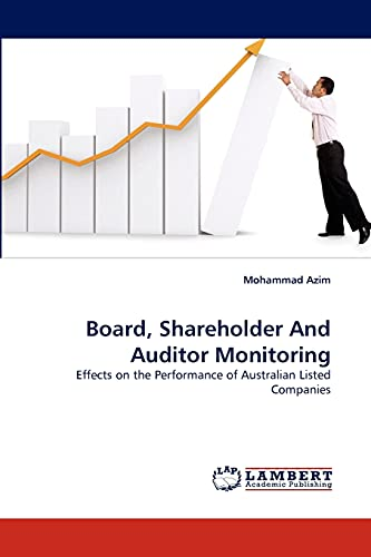 Board, Shareholder and Auditor Monitoring: Mohammad Azim