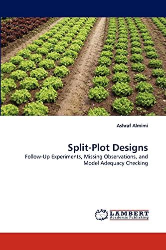 9783838372198: Split-Plot Designs