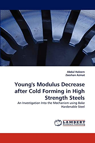9783838376165: Young's Modulus Decrease after Cold Forming in High Strength Steels: An Investigation Into the Mechanism using Bake Hardenable Steel