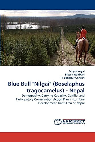 "Blue Bull ""Nilgai"" (Boselaphus tragocamelus) - Nepal: Achyut Aryal"