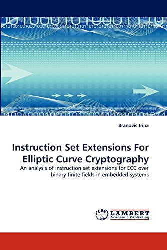 Instruction Set Extensions for Elliptic Curve Cryptography: Branovic Irina