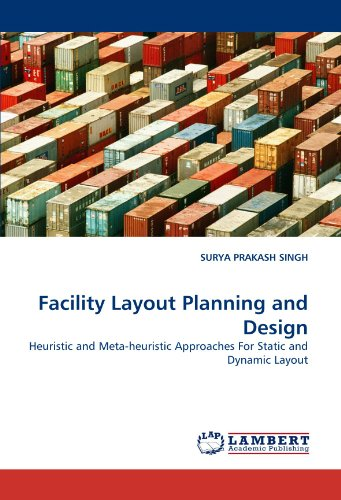 9783838389493: Facility Layout Planning and Design: Heuristic and Meta-heuristic Approaches For Static and Dynamic Layout