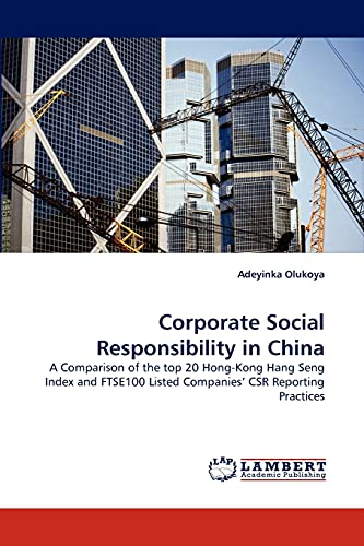 Corporate Social Responsibility in China: Adeyinka Olukoya
