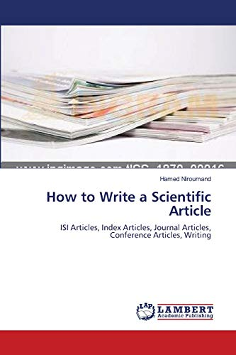 9783838397047: How to Write a Scientific Article