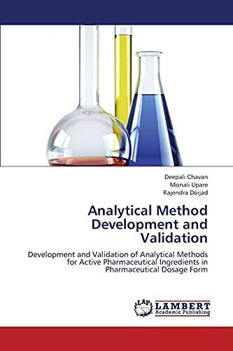 9783838398471: Analytical Method Development and Validation