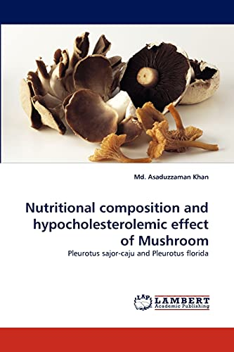 Nutritional Composition and Hypocholesterolemic Effect of Mushroom: Md. Asaduzzaman Khan