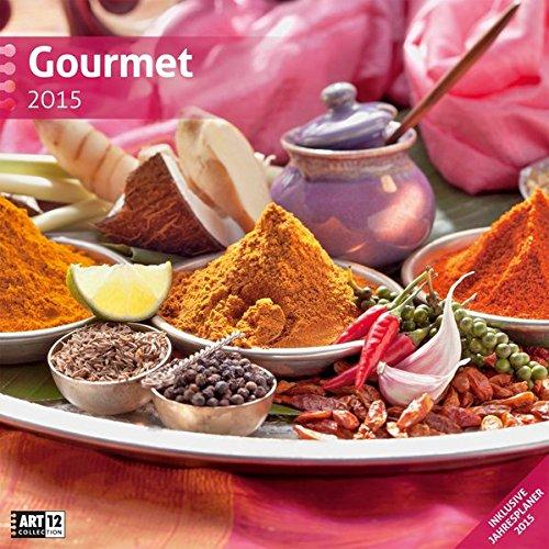 9783838455099: Gourmet 2015 Art12 Collection: Brosch�renkalender. Inklusive 10 beliebig oft verschiebaren Markern