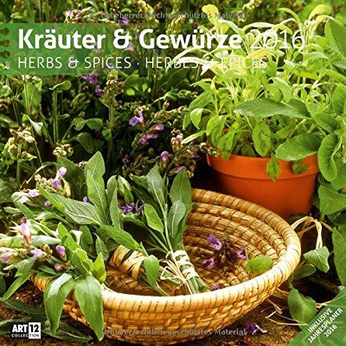 9783838456010: Kräuter und Gewürze 2016 Art12 Collection