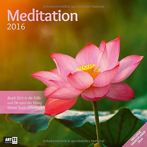 9783838456058: Meditation 30 x 30 cm 2016