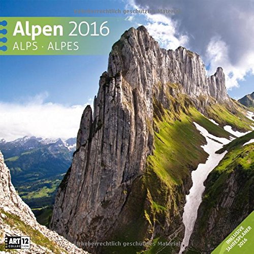 9783838456140: Alpen 2016 Art12 Collection