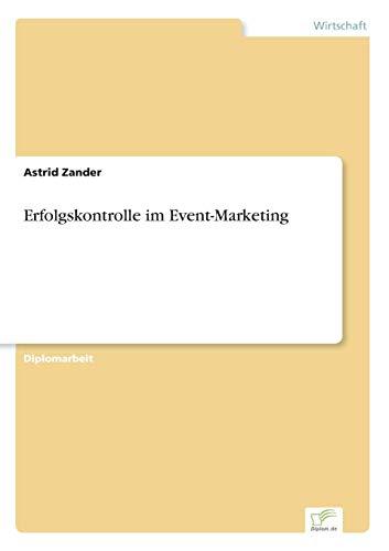 9783838615196: Erfolgskontrolle im Event-Marketing (German Edition)