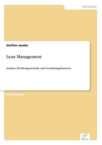 Lean Management Ans: Steffen Jacobs