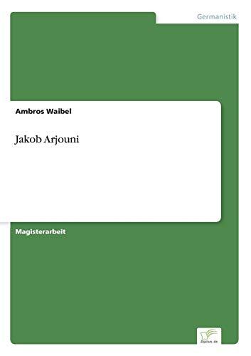 Jakob Arjouni: Ambros Waibel