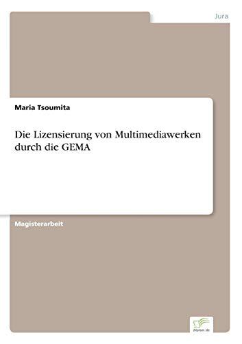 9783838627649: Die Lizensierung von Multimediawerken durch die GEMA