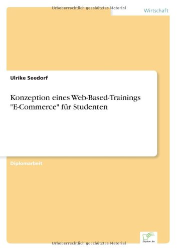 9783838646367: Konzeption Eines Web-Based-Trainings