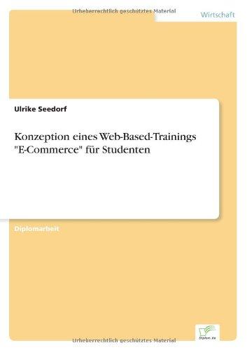 9783838646367: Konzeption eines Web-Based-Trainings