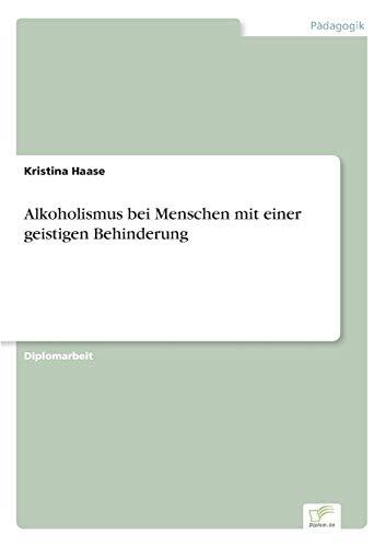 9783838658797: Alkoholismus bei Menschen mit einer geistigen Behinderung