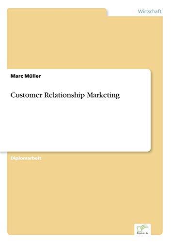 9783838660271: Customer Relationship Marketing