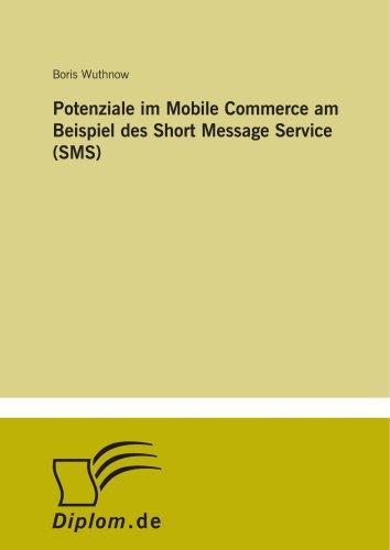 9783838662077: Potenziale im Mobile Commerce am Beispiel des Short Message Service (SMS)