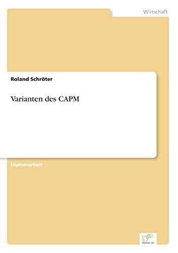Varianten Des Capm: Roland SchrÃter