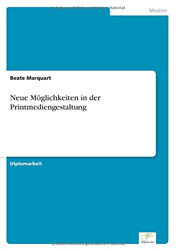 Neue Möglichkeiten in der Printmediengestaltung: Beate Marquart