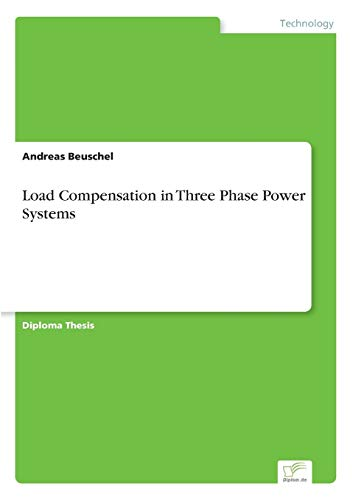 9783838668369: Load Compensation in Three Phase Power Systems