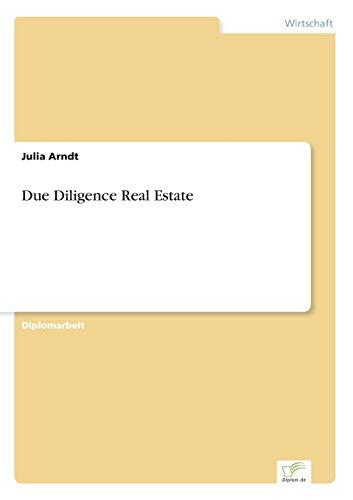 Due Diligence Real Estate: Julia Arndt