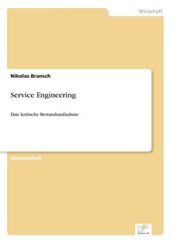 9783838677699: Service Engineering: Eine kritische Bestandsaufnahme