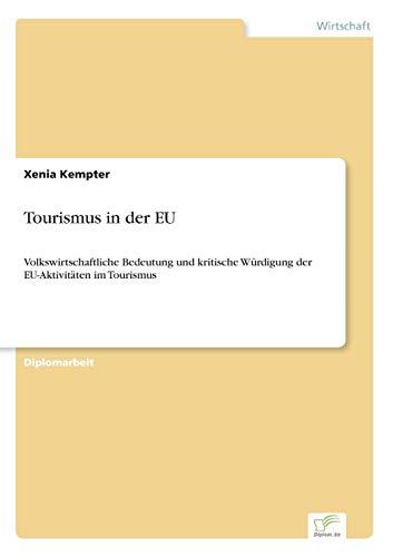 Tourismus in der EU: Xenia Kempter