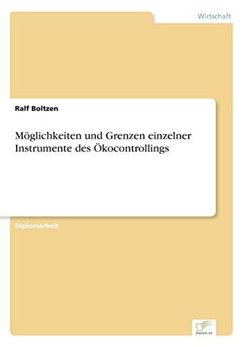 9783838679938: M�glichkeiten und Grenzen einzelner Instrumente des �kocontrollings