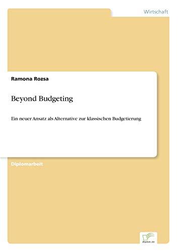 9783838683119: Beyond Budgeting
