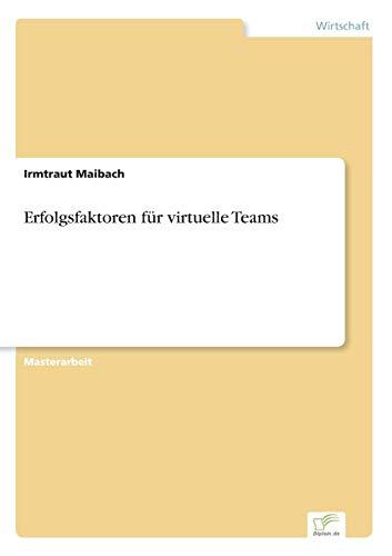 9783838684321: Erfolgsfaktoren für virtuelle Teams