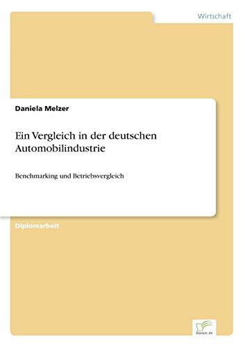 Ein Vergleich in der deutschen Automobilindustrie: Daniela Melzer