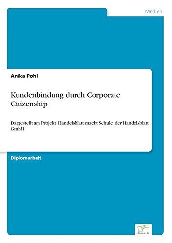 Kundenbindung durch Corporate Citizenship: Anika Pohl