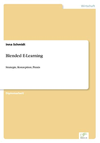 9783838698014: Blended E-Learning (German Edition)