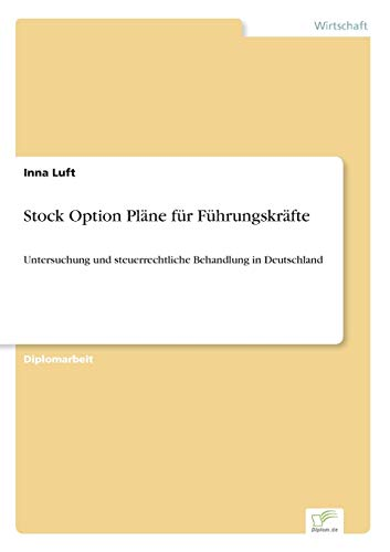 Stock Option Plane Fur Fuhrungskrafte: Inna Luft