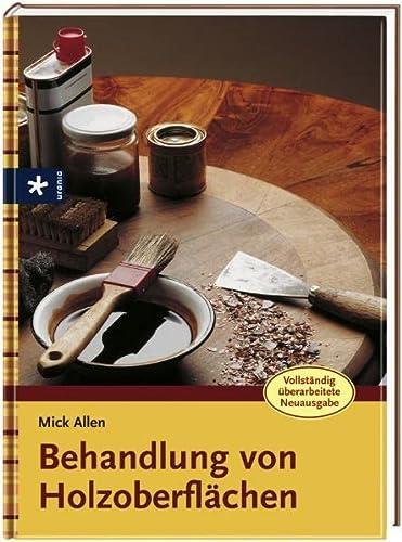 9783838830155: Behandlung von Holzoberflächen