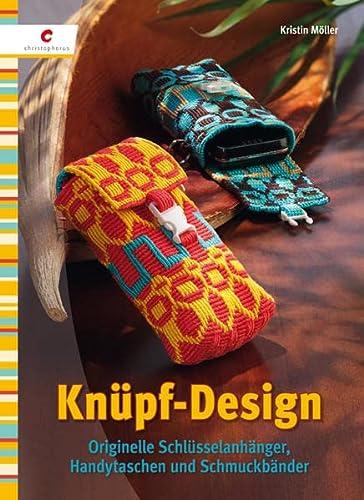 9783838832470: Knüpf-Design: Originelle Schlüsselanhänger, Handytaschen und Schmuckbänder