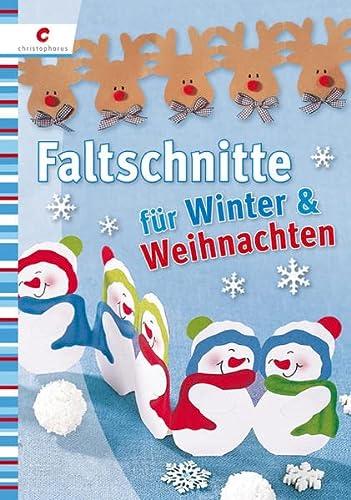 Faltschnitte für Winter und Weihnachten